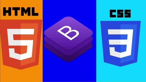 Udemy: HTML5, CSS3 y Bootstrap 4 Build: dos sitios web en hindi | Urdu
