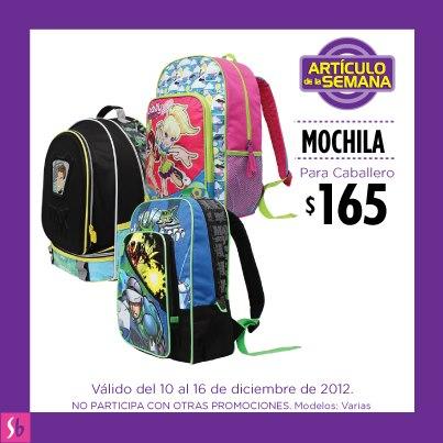 Artículo de la semana en Suburbia: mochila Polly Pocket o Max Steel a $165
