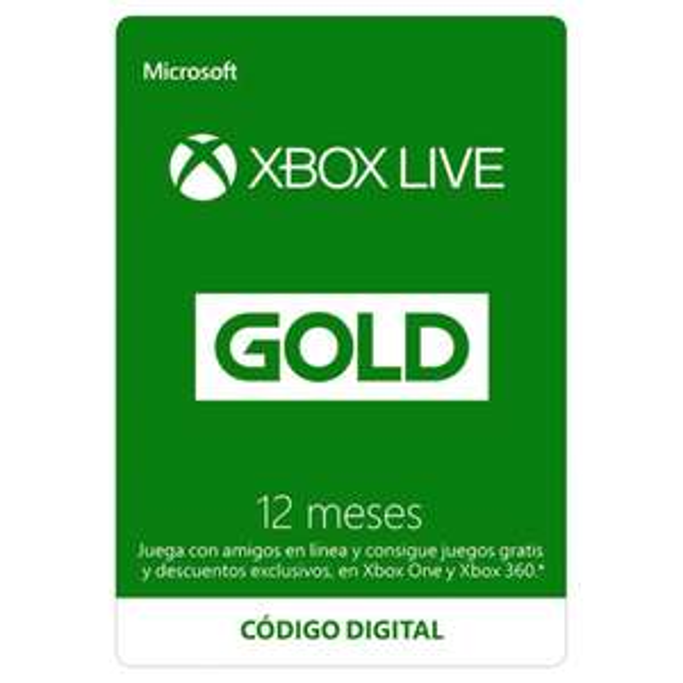 Walmart: Xbox Live Gold para 12 Meses