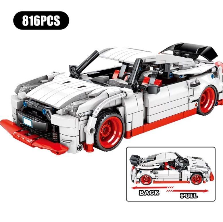 Aliexpress: Bloques de construcción Hipac SEMBO, coches de carreras