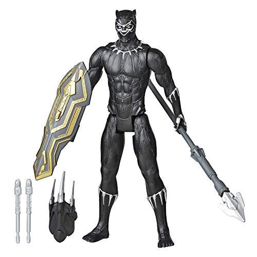 Amazon: Marvel Avengers Titan Hero Series Blast Gear Figura de 12 Pulgadas Black Panther