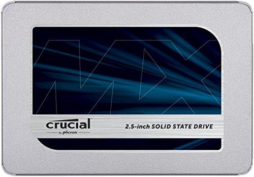 Amazon: Crucial Unidad de Estado sólido MX500 1TB (El mejor disco SSD para juegos)