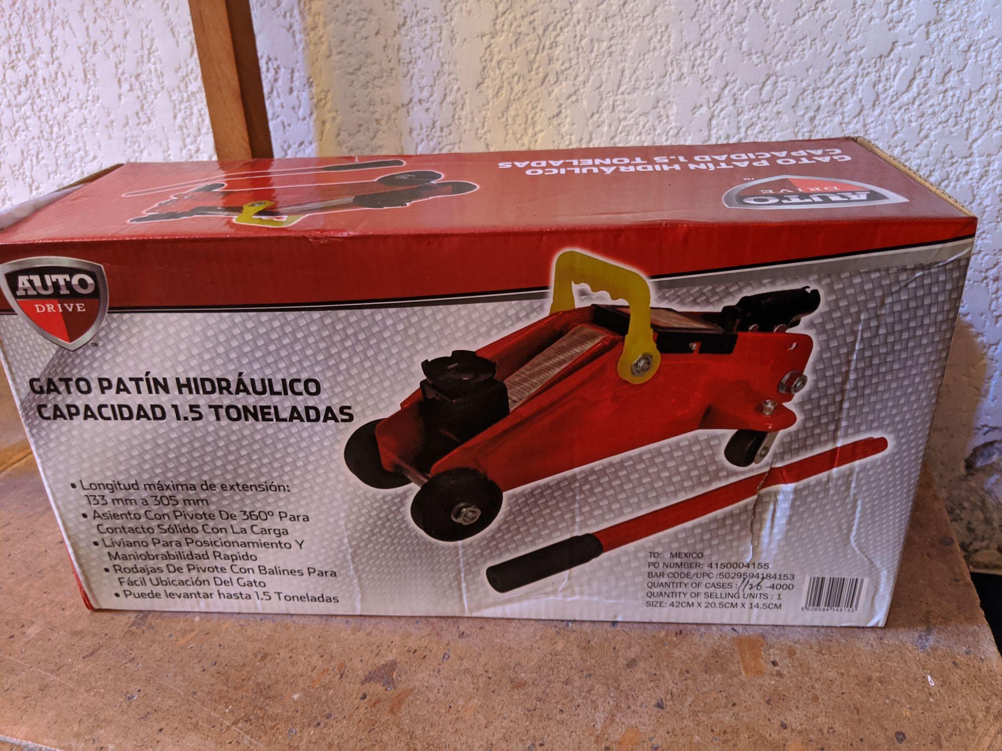Waltmart Portal San Ángel: Gato hidráulico Auto Drive