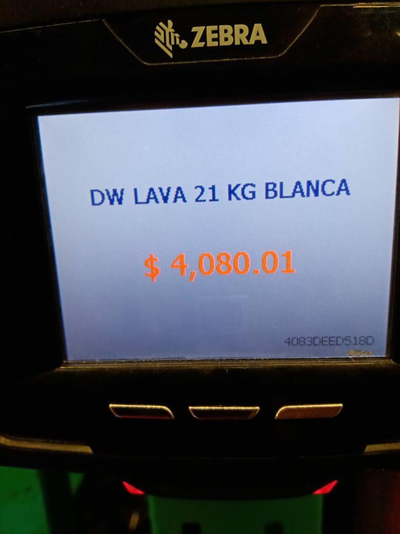 Bodega Aurrera Carrera: Lavadora DW de 21 kilos