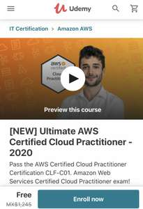 Udemy - AWS Certified Cloud Practitioner 2020