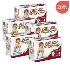 Ofertas Hot Sale Bebe2go: Huggies Supreme E5 $164 en combo de 5 paquetes