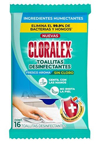 Amazon: Toallitas Desinfectantes Cloralex - 16 pz