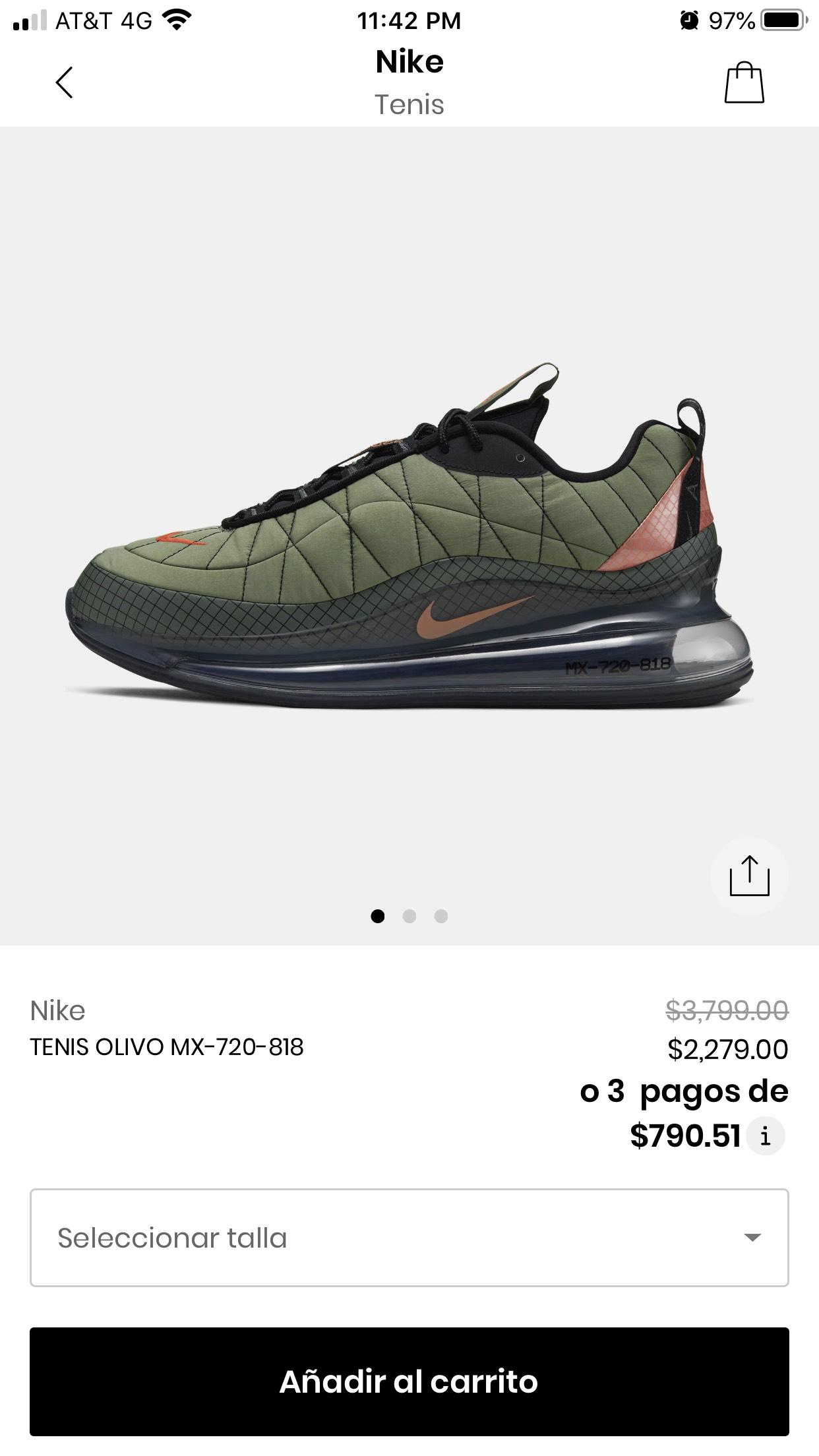Privalia: Tenis Nike 720-818