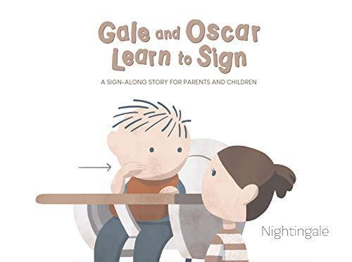 Amazon Kindle - Pequeño libro de lenguaje de señas para niños (En Inglés, 12 Signos)