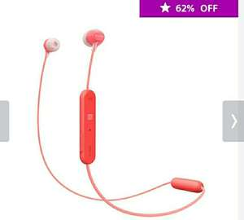 Sony: Audífonos intrauditivos inalámbricos WI-C300