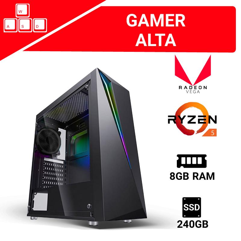 Digitalife PC GAMER ARMADA R5 8GB 240 SSD