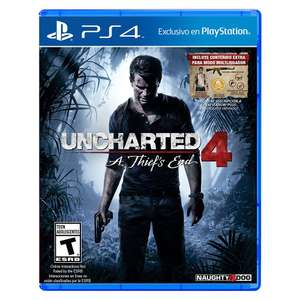 Ofertas Hot Sale Amazon: Uncharted 4: A Thief's End