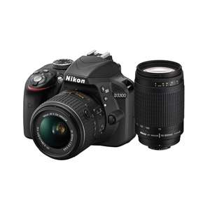 Ofertas Hot Sale Office Depot: Nikon D3300+ Objetivo 70-300mm+TV 32""