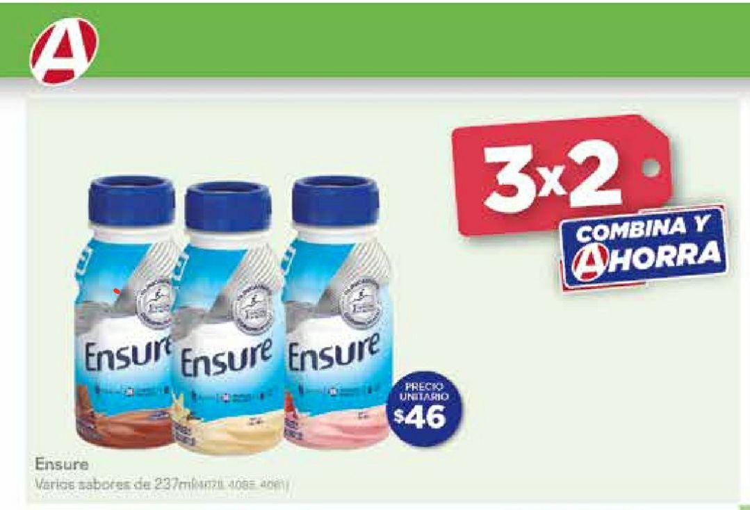 3x2 en Ensure • Farmacias del Ahorro