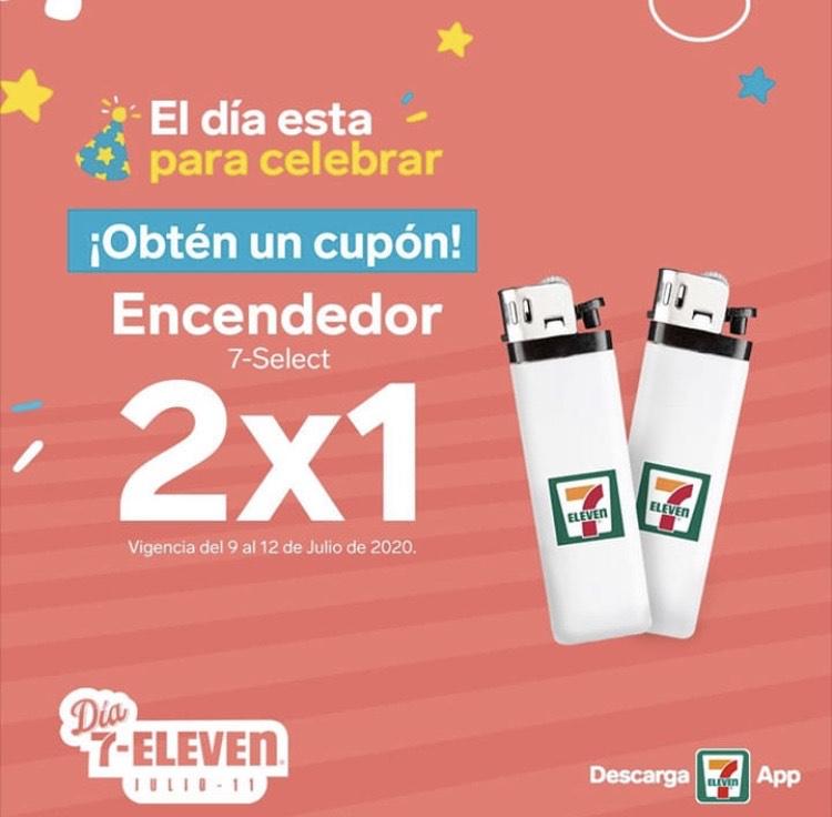 7 Eleven: 2x1 encendedor