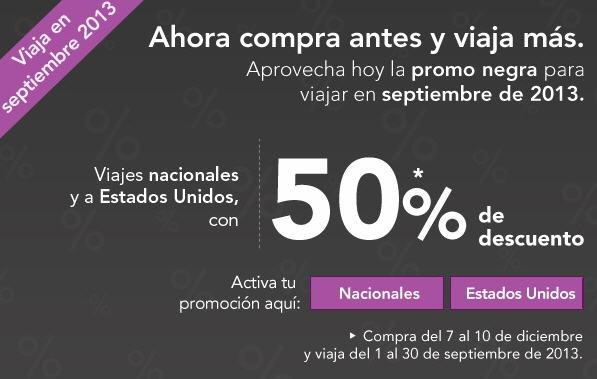 Volaris: 50% de descuento para viajar en septiembre