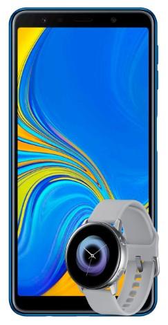 Telcel Samsung Galaxy A7 + Samsung Active Watch