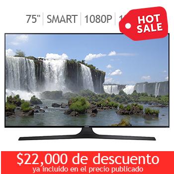 Ofertas Hot Sale Costco: Pantalla Samsung 75'' SmarTV