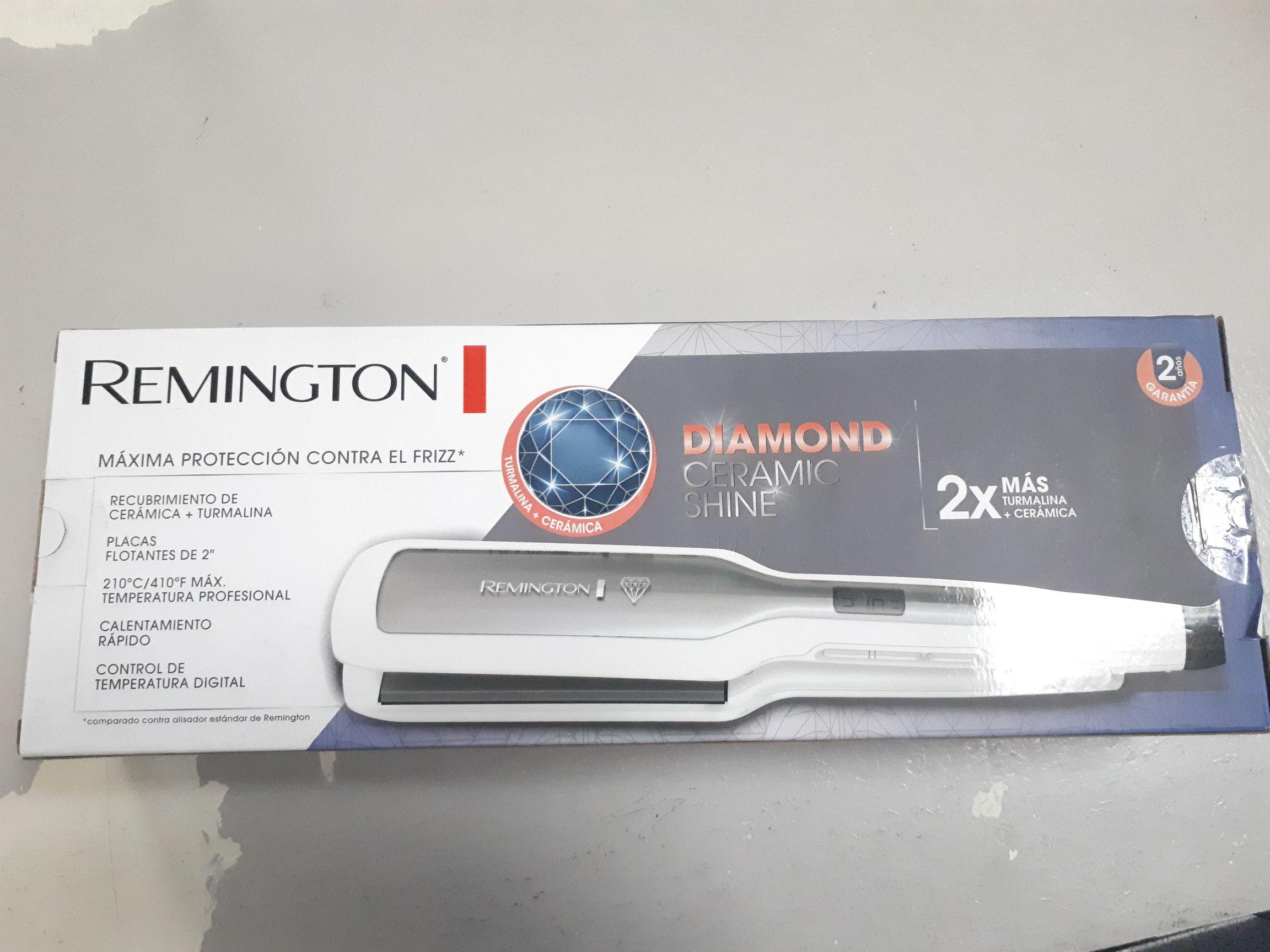 Bodega Aurrera: Plancha Para Cabello Remington Diamond