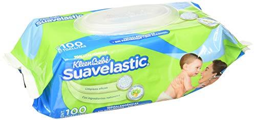 Amazon: KIeenBebé Suavelastic Max, Toallas Húmedas para Bebé, 100 Toallas