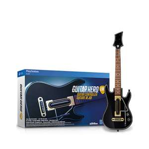 Oferta del Hot Sale en Amazon y Gamepanet: Guitarra extra para GUITAR HERO LIVE a $440