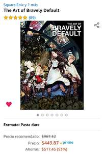 Amazon: The Art of Bravely Default