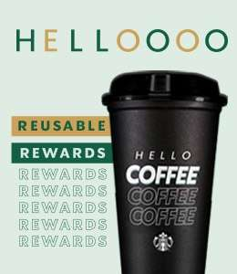 Starbucks rewards: Hello vaso rewards