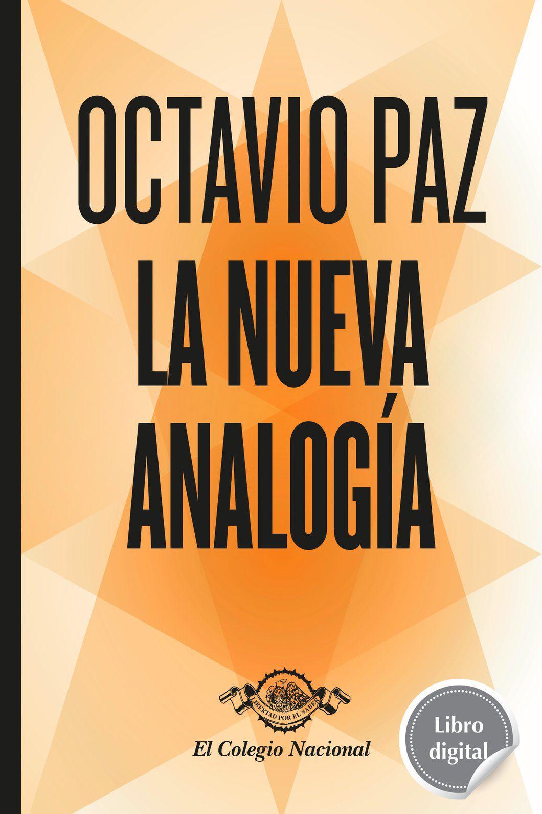 Libro digital La nueva analogía - Octavio Paz