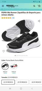 Amazon: PUMA 90s Runner Zapatillas de Deporte para Unisex Adulto