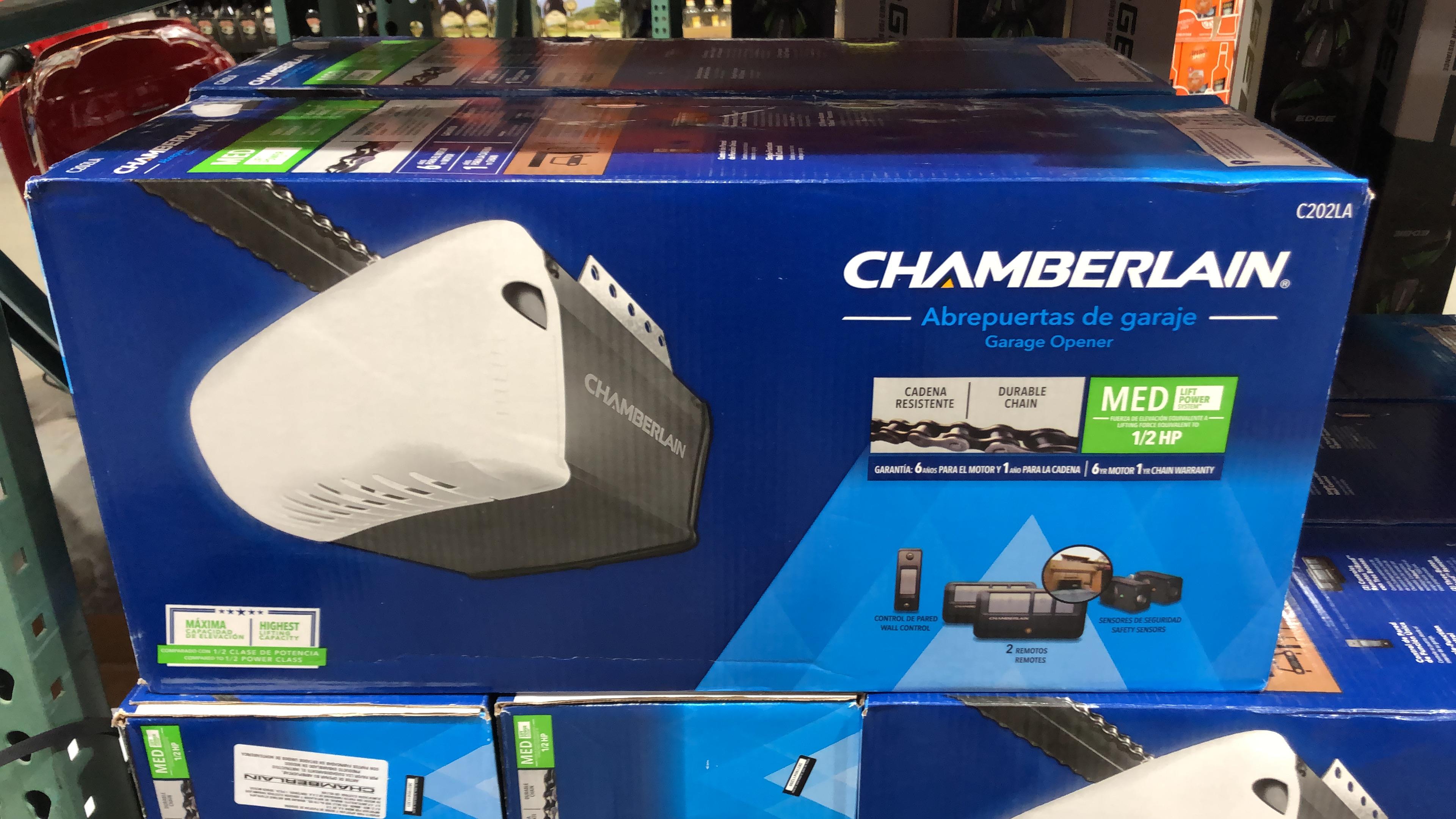 Costco tienda física - Abridor de garaje Chamberlain C202LA