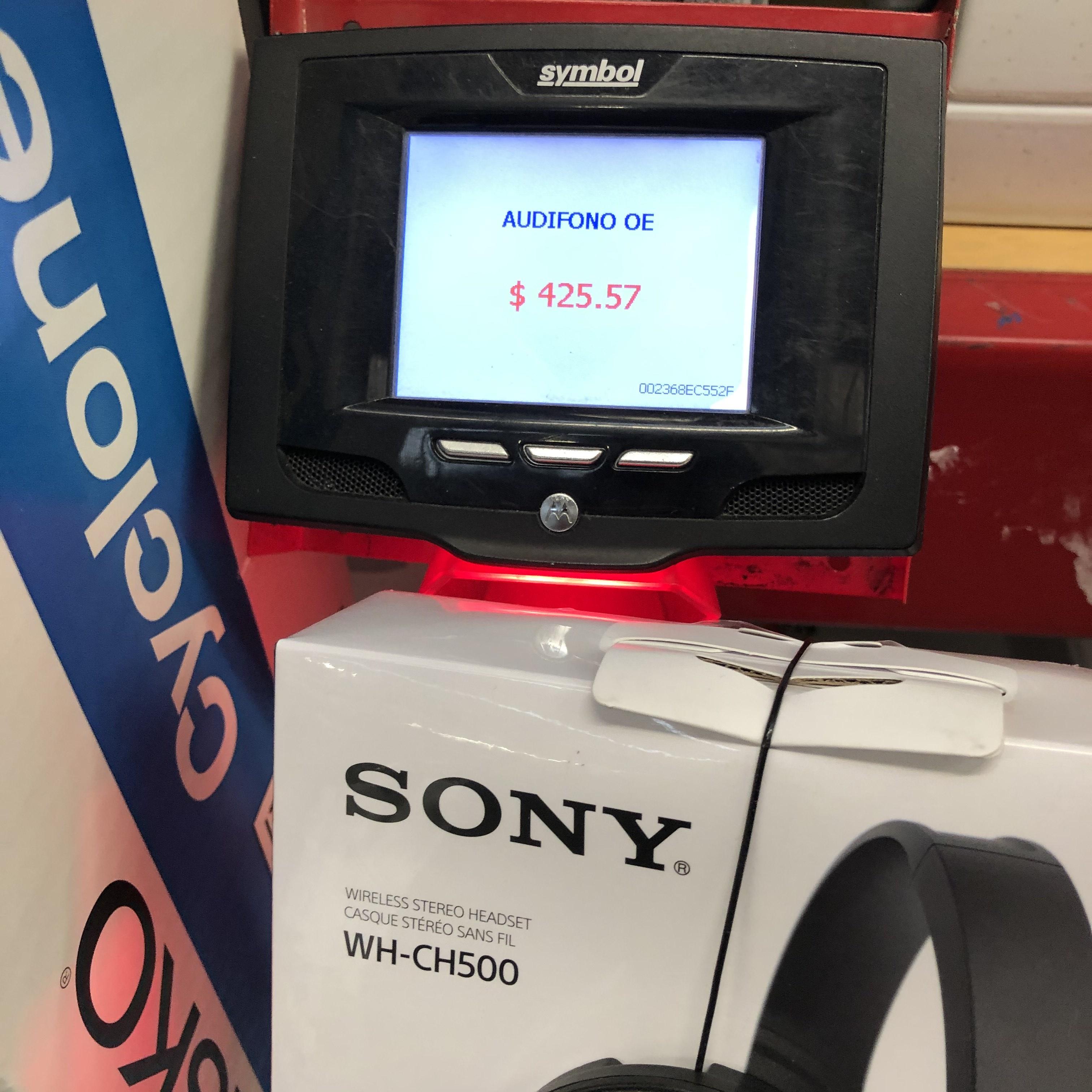 Sams Club: Pachuca, audífonos Sony WH-CH500