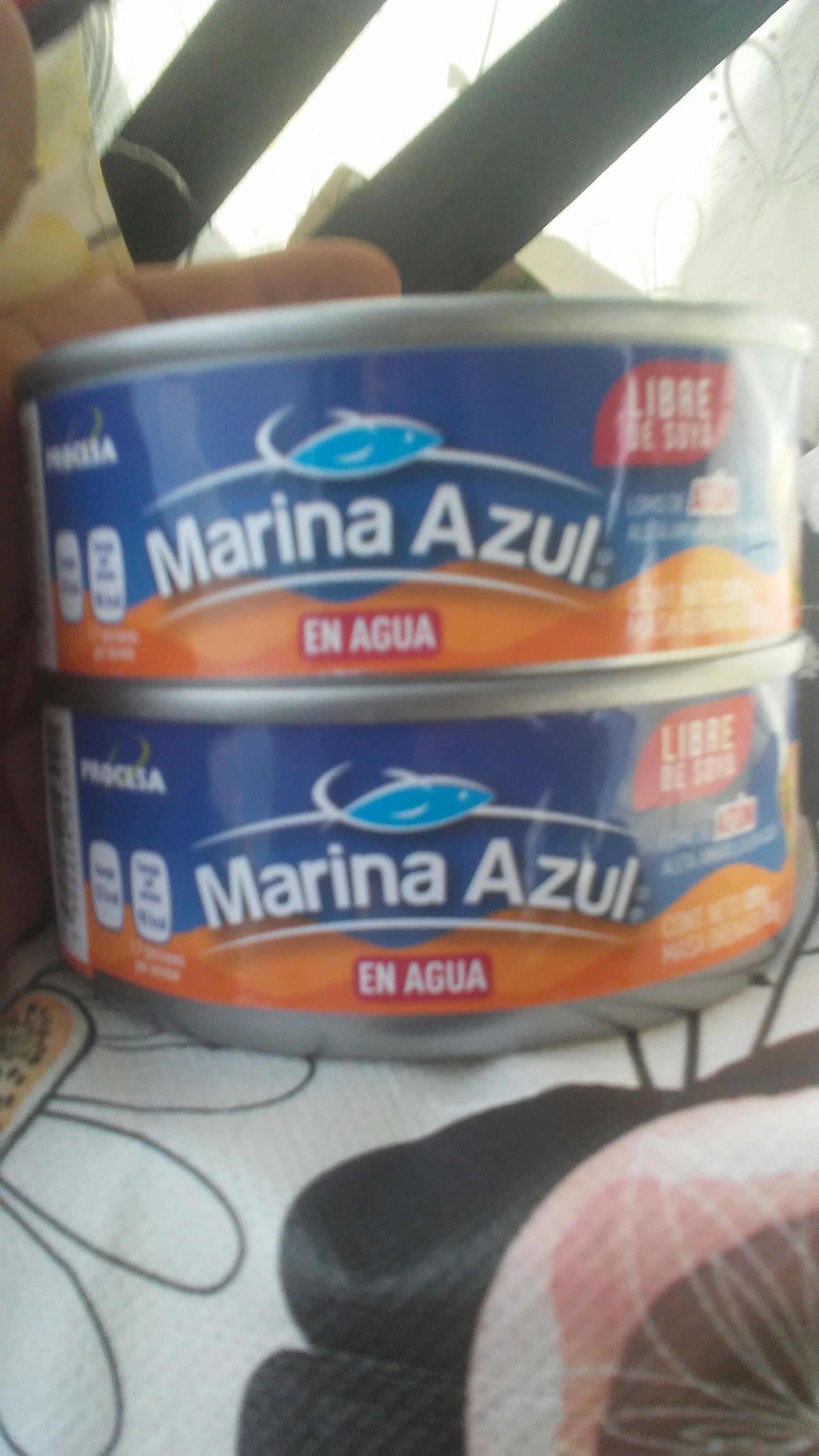 Bodega aurrera: atún marina azul en agua 120g
