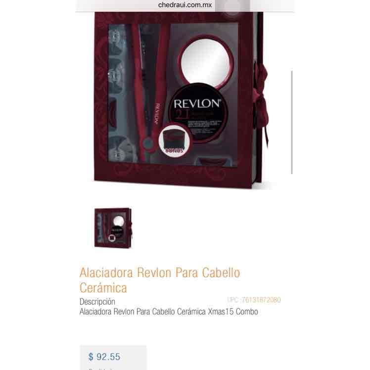 Chedraui Campeche: Alaciadora Revlon combo a $93