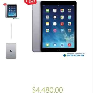Ofertas Hot Sale Sam's Club: iPad Air a $4,480 ($3734 con tarjeta Sam's Inbursa)