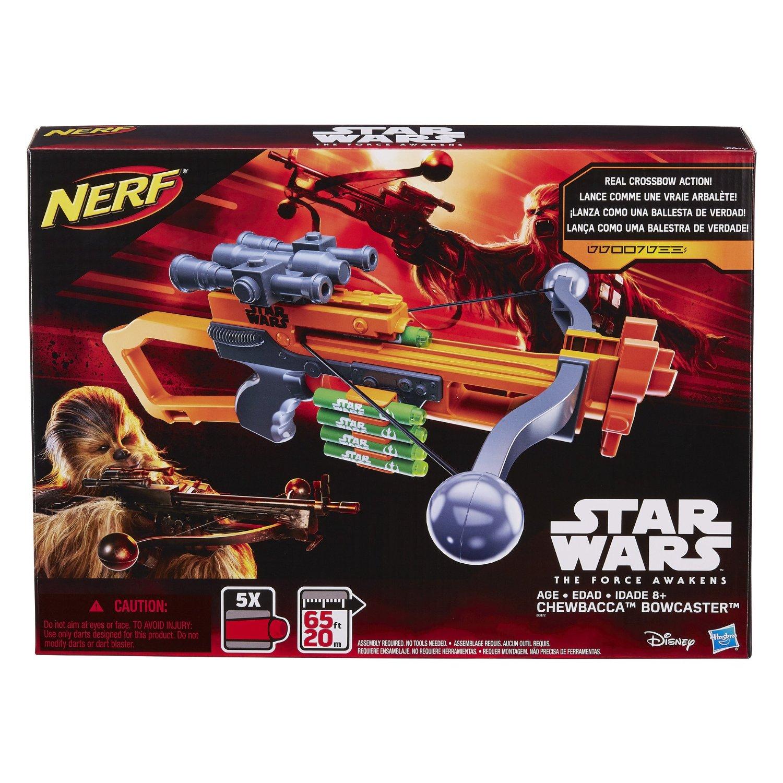 Hot Sale Amazon: Nerf Star Wars ballesta de Chewbacca $334 y otras ofertas Nerf