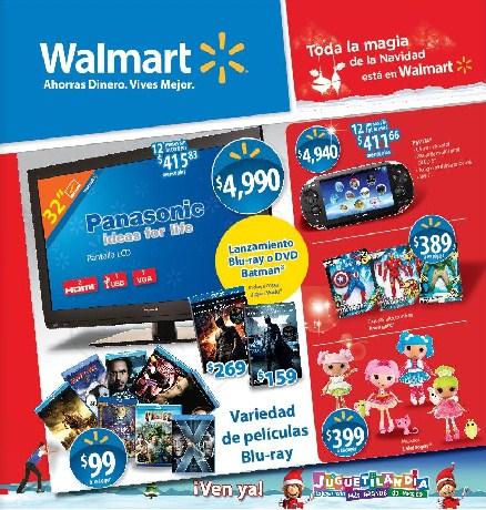 Folleto Walmart: ofertas en tequila, ron, banda ancha Unefon y +