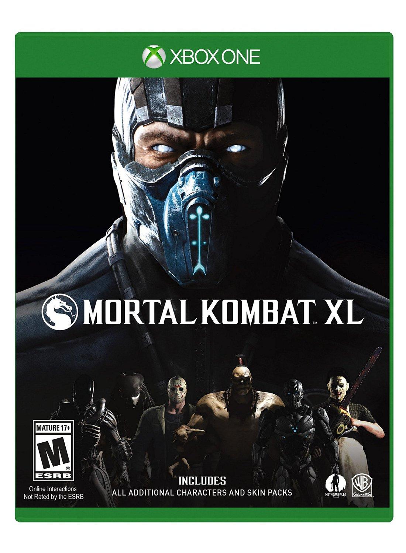 Ofertas Hot Sale Amazon: Mortal Kombat XL para Xbox One(Todos los personajes) $769