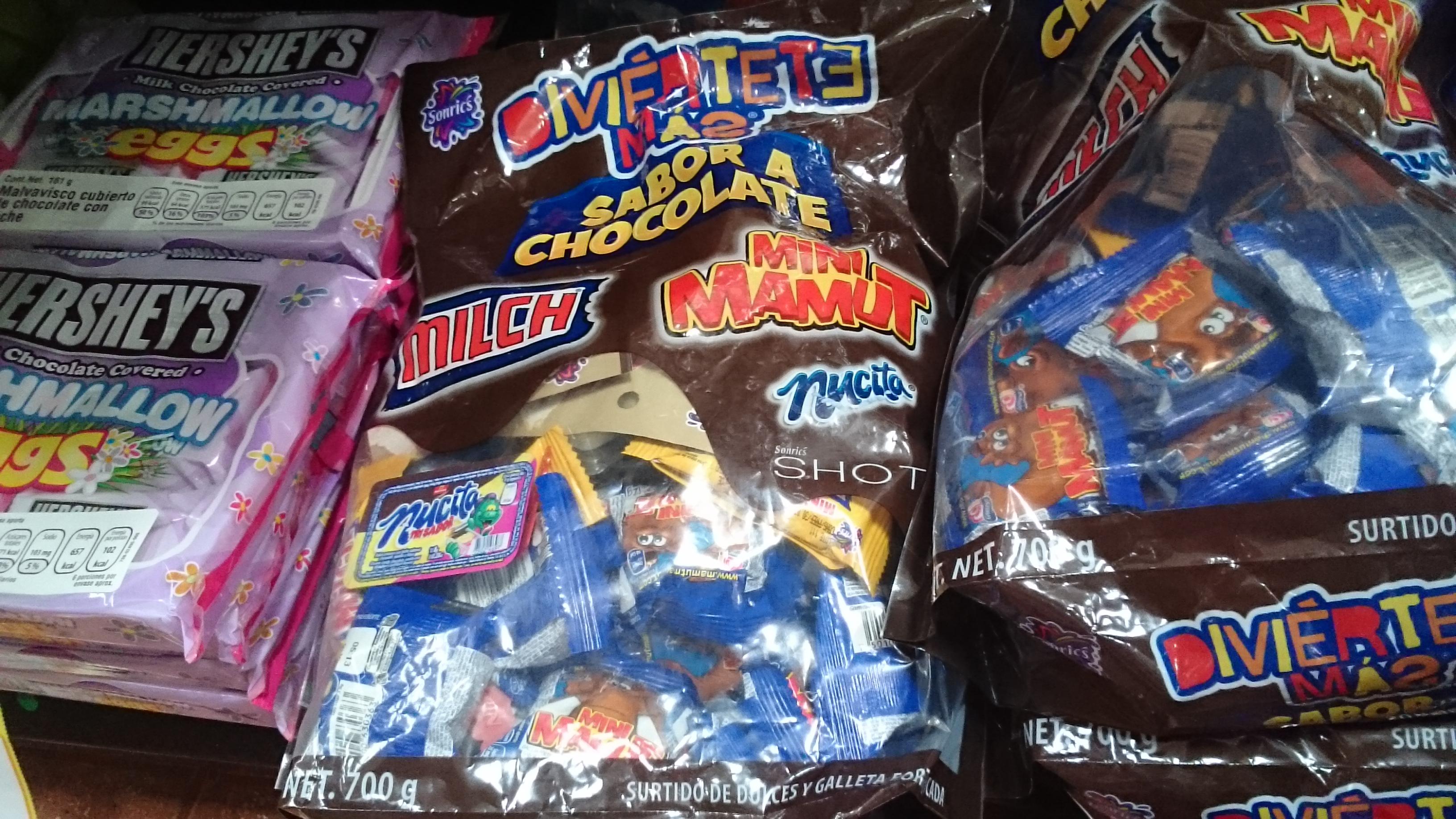 Walmart Jiutepec: Paquete de chocolates de $109 a $43.60