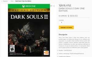 Ofertas Hot Sale Palacio de Hierro: Dark Souls 3 Day One Edition