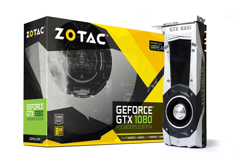 Hot Sale en Amazon: Tarjeta de video GTX 1080 Founders Edition Zotac (13,651.60 con Banamex)
