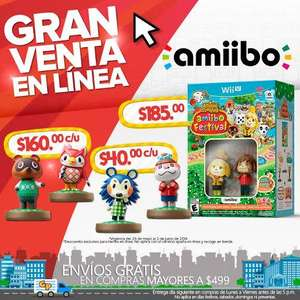 Ofertas Hot Sale en Game Planet: Animal Crossing Festival Amiibo