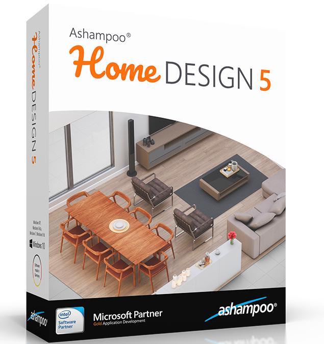 Gratis Ashampoo® Home Design 5