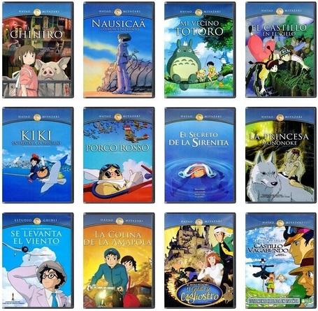 Amazon: Paquetes Studio Ghibli Blu-ray Volumen 1,2,3,4,5 (189 C/U)