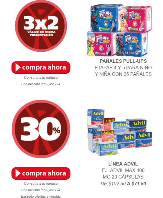 Ofertas de Hot Sale en Farmacia San Pablo: 35% de descuento en pañales Huggies y más