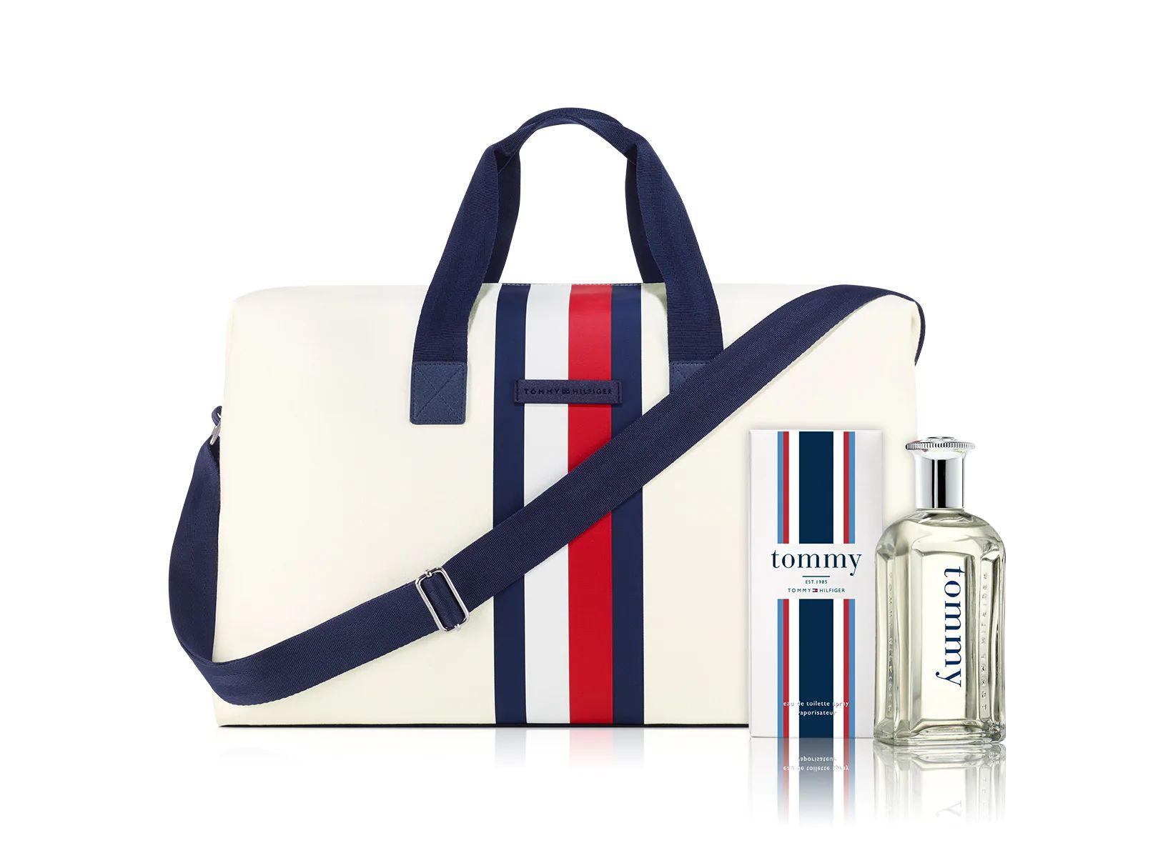 Liverpool:Set de fragancia para caballero Tommy Hilfiger + maleta Tommy Hilfiger (también disponible para mujer)