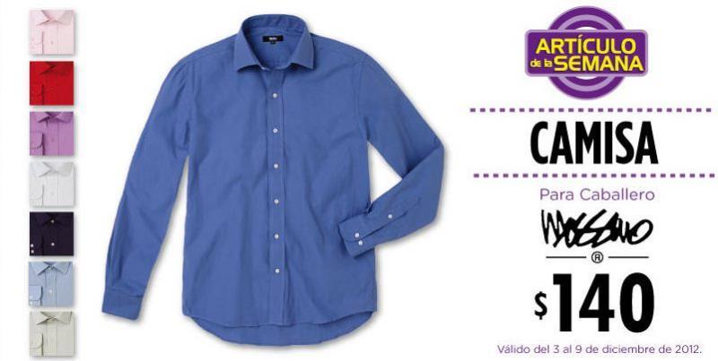 Artículo de la semana en Suburbia: camisa para caballero a $140