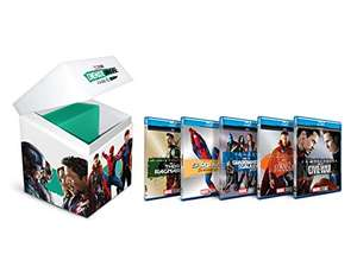 Amazon: Paquetes Marvel [Blu-ray] (C/U)