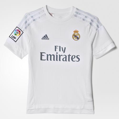 Oferta del Hot Sale en Adidas: Jersey Local Real Madrid 2015/2016 Niños a $659