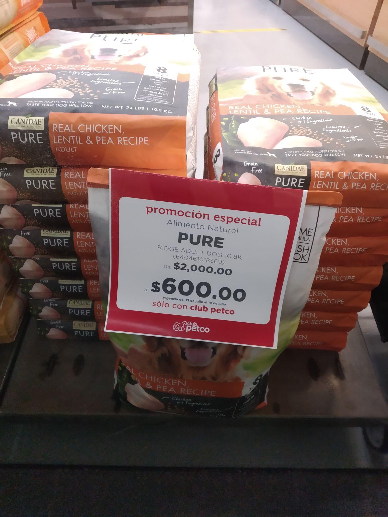 Petco Cúspide: Alimento Natural Pure
