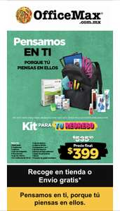 OfficeMax Kit regreso a clases